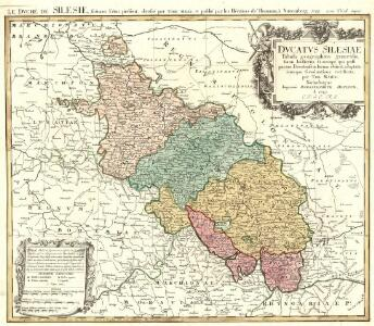 Dvcatvs Silesiae Tabula geographica generalis