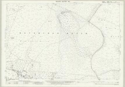 Dorset XVI.16 (includes: Alderholt; Harbridge and Ibsley; Verwood) - 25 Inch Map
