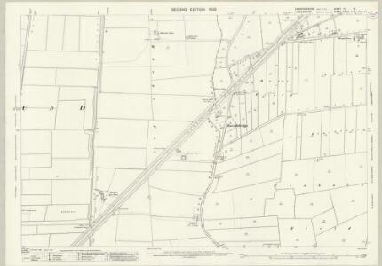 Cambridgeshire III.16 (includes: Leverington; Newton; Parson Drove; Sutton St Edmund; Tydd St Mary) - 25 Inch Map