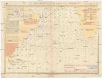 Pilot chart of the South Atlantic Ocean