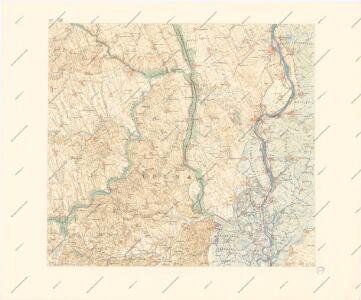 A Dunavölgy Átnézeti Térképe, Carte d ́ensemble del la Vallée du Danube XV.
