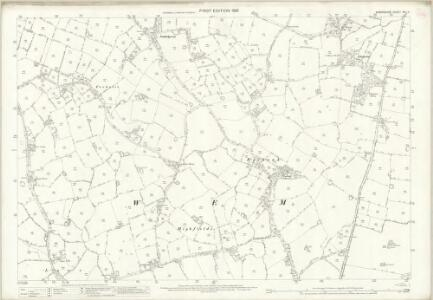 Shropshire XIV.11 (includes: Wem Rural) - 25 Inch Map