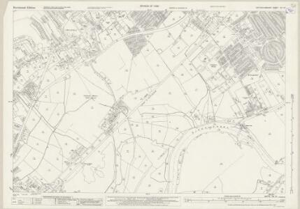 Nottinghamshire XLI.16 (includes: Beeston And Stapleford; Clifton With Glapton) - 25 Inch Map