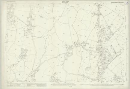Gloucestershire XVIII.13 (includes: Ashleworth; Corse; Hartpury; Maisemore) - 25 Inch Map