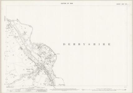 Cheshire XX.16 (includes: Chinley Bugsworth and Brownside; New Mills; Whaley Bridge) - 25 Inch Map