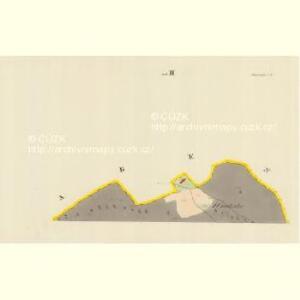 Blauda (Bludoff) - m0118-1-009 - Kaiserpflichtexemplar der Landkarten des stabilen Katasters