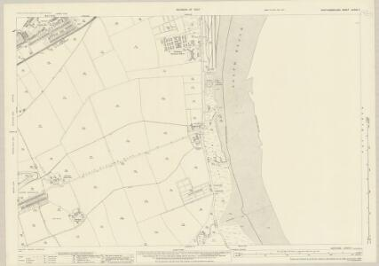 Northumberland (New Series) LXXVIII.7 (includes: Blyth) - 25 Inch Map