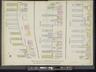 Manhattan, V. 5, Double Page Plate [Map bounded by Hudson River, 13th Ave., 12th Ave.]