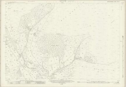 Brecknockshire XXXVI.5 (includes: Llanbedr Ystrad Yw; Partrishow) - 25 Inch Map