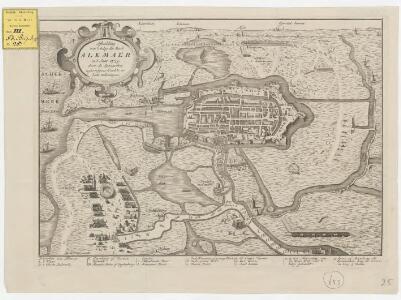 Afbeelding van 't beleg der stad Alkmaer in 't jaar 1573, door de Spaanschen: agtervolgens d'oudste en beste teekeningen