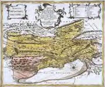 Carte de la souveraineté de Neuchatel et Vallangin
