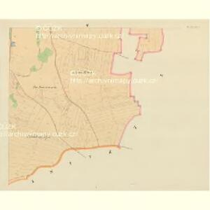 Maschitz - c4538-1-005 - Kaiserpflichtexemplar der Landkarten des stabilen Katasters