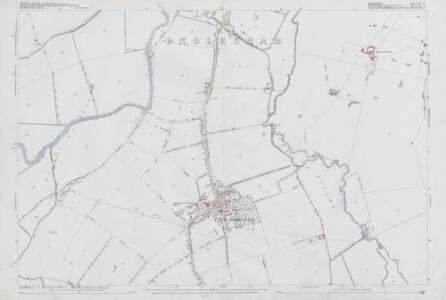 Wiltshire VI.6 (includes: Buscot; Hannington; Highworth; Inglesham; Kempsford) - 25 Inch Map