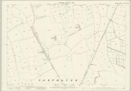 Somerset LXXIII.12 (includes: Charlton Mackrell; Ilchester; Kingsdon; Yeovilton) - 25 Inch Map