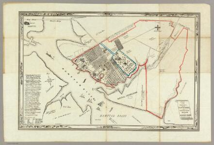 A Plan Of The Property Of The Hampton Normal And Agricultural Institute.