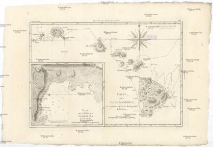 Carte des Isles Sandwich