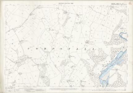 Cheshire XI.10 (includes: Bredbury and Romiley; Hyde; Marple) - 25 Inch Map