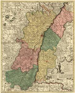Totius Alsatiae Novissima Tabula