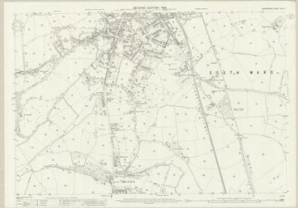 Shropshire XIX.2 (includes: Oswestry Rural; Oswestry Urban) - 25 Inch Map