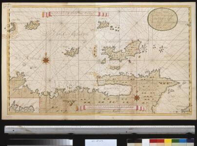 Een gedeelte van de kust van Venezuela en van de Caribesse Eijlanden van t eijland Granada tot t eijland Roca door d Engelse afgeteek(end)