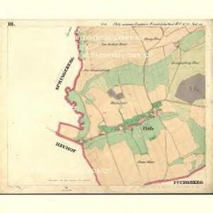 Plöss - c5805-1-003 - Kaiserpflichtexemplar der Landkarten des stabilen Katasters