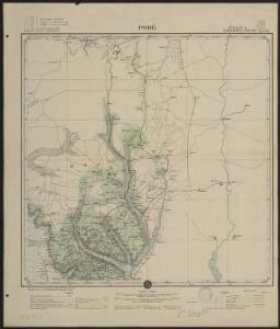 Afrique occidentale française-carte régulière. Pobé