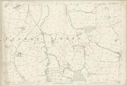 Worcestershire X.1 (includes: Birmingham; Frankley; Halesowen; Hunnington; Illey; Lapal) - 25 Inch Map