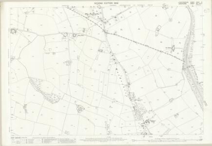 Staffordshire XXVIII.5 (includes: Sutton Upon Tern; Tyrley) - 25 Inch Map