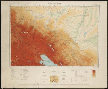 Puno - Rio Beni : South America, 1:1,000,000