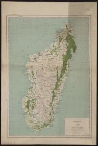 Madagascar, carte forestière