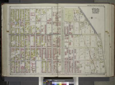 Brooklyn, Vol. 1, Double Page Plate No. 18; Part of Ward 24 & 29, Section 5; [Map bounded by Buffalo Ave., East New York Ave., Albany Ave., Atlantic Ave.] / by and under the direction of Hugo Ullitz.