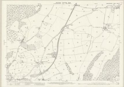 Herefordshire XXXVI.13 (includes: Colwall; Eastnor; Ledbury Rural) - 25 Inch Map