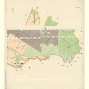 Lautsch (Mlats) - m1827-1-006 - Kaiserpflichtexemplar der Landkarten des stabilen Katasters