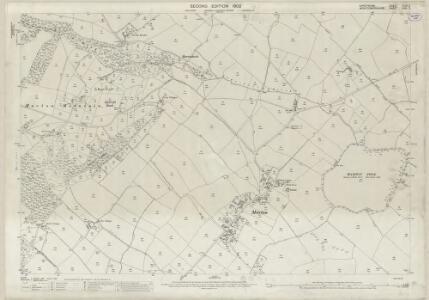 Shropshire XLVII.2 (includes: Chirbury; Trelystan; Worthen) - 25 Inch Map