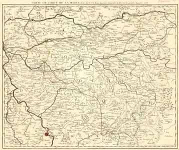 Carte du Comté de la Marck