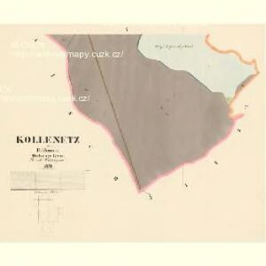 Kollenetz - c3278-1-009 - Kaiserpflichtexemplar der Landkarten des stabilen Katasters