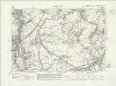 Lancashire CXII.NW - OS Six-Inch Map