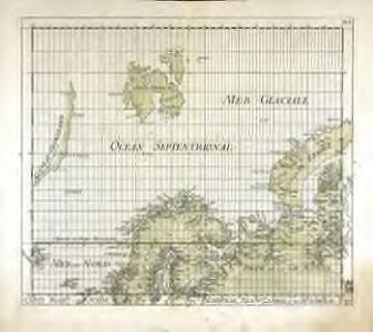 Carte mar.ne de Suede, Norwege, Nouv.le Zemble et de Spitsberge