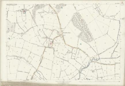 Worcestershire XXIX.8 (includes: Hanbury; Himbleton) - 25 Inch Map