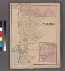 Plate 52: Wakefield, Town & County of Westchester, N.Y.