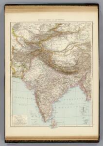Centralasien, Ostindien.