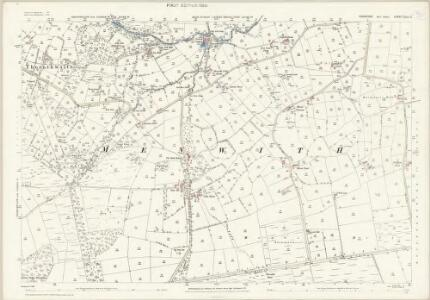 Yorkshire CLIII.5 (includes: Dacre; Menwith With Darley; Thornthwaite With Padside) - 25 Inch Map