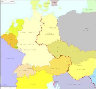 Mitteleuropa 1949