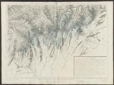 Partie du c.ton du Vallais et le versant des eaux du Piemont