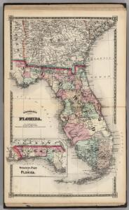 Schonberg's Map of Florida.