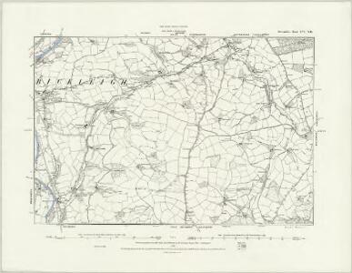 Devonshire LVI.NW - OS Six-Inch Map