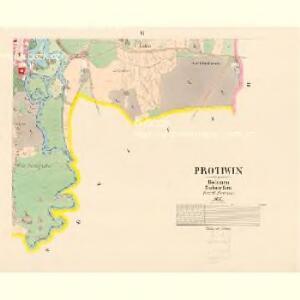 Protiwin - c6141-1-006 - Kaiserpflichtexemplar der Landkarten des stabilen Katasters
