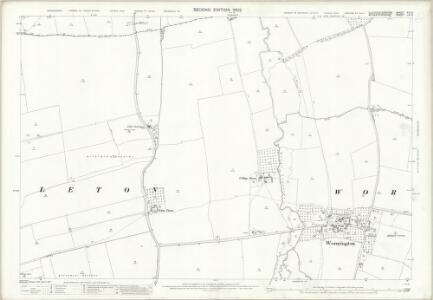 Gloucestershire XIII.3 (includes: Aston Somerville; Dumbleton; Sedgeberrow; Toddington) - 25 Inch Map