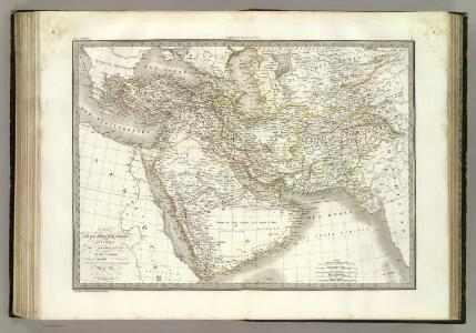 Turquie d'Asie, Perse, Afghanistan, Arabie.