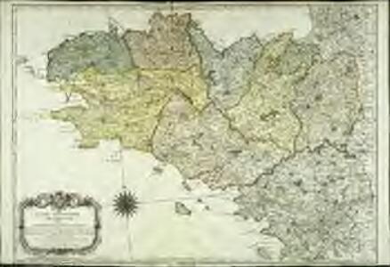 Carte geometrique de Bretagne